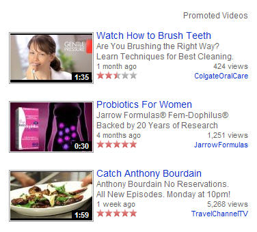 Promoted Videos