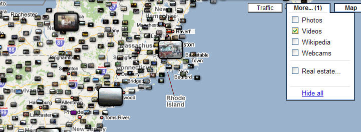 A look at Google Maps' video layer