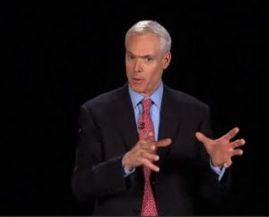 Jim Collins speaking about getting the right people on the bus