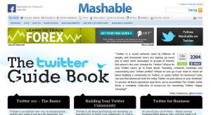 Mashable Twitter Guidebook