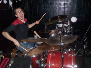 Liam Smith Drumming with Passion