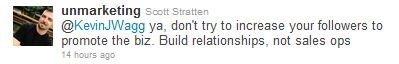 scott stratten tweet unmarketing