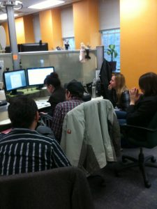 DragonSearch employees training