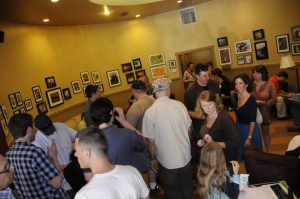 People at DragonSearch Hudson Valley Talent Mixer