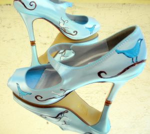 Custom Twitter party shoes