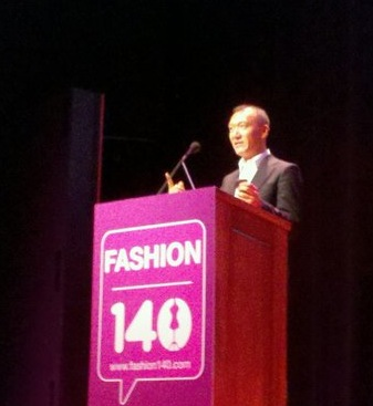 Joe Zee, Creative Director of Elle Magazine, at #fashion140
