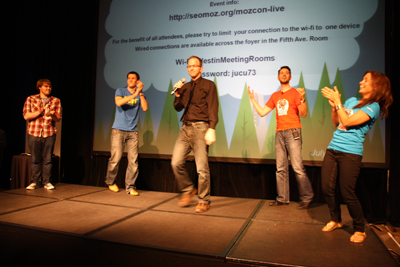 And the winner is: Rand Fishkin! Congrats Rand