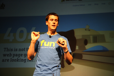 Will Critchlow of Distilled presenting at MozCon