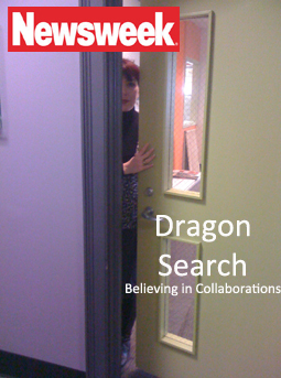 newsweek cover with woman peeking through door of dragonsearch