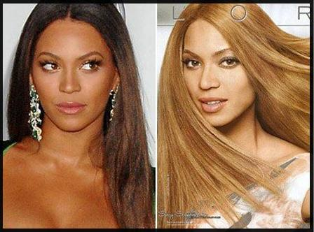 Racist Beyonce ad for L'Oreal portrays the musician with lightened skin