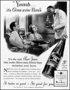 Racist advertisement for root beer