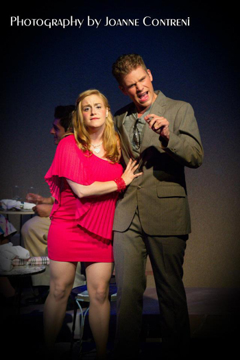 victoria mccarthy and ryan waterman in legally blonde the musical
