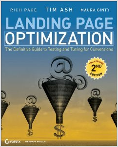 Cover Image of Landing Page Optimization Book by Tim Ash