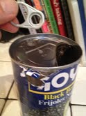 A self-contained easy bean can opener broke off.