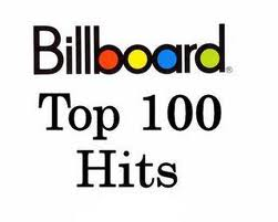 The colorful Billboard Magazine logo displaying the text Top 100 Hits.