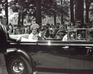 June 11, 1939 royal visit of King George VI and Queen Elizabeth of Great Britain to President Roosevelt's home town of Hyde Park, NY.