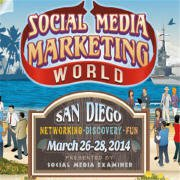 The SMMW 2014 San Diego logo containg the March dates of the event.