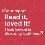 A quote in response to a website audit showing client trust
