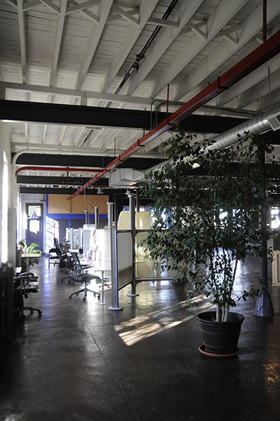 The DragonSearch collaborative space in Kingston, NY