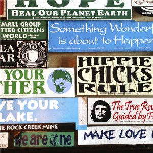 An example of bumper stickers