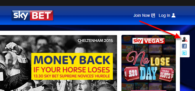 Sky Bet Panic Button