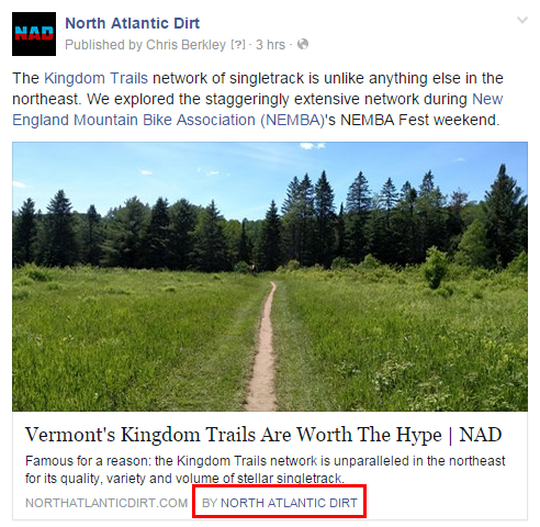 Facebook publisher markup opengraph rich snippet