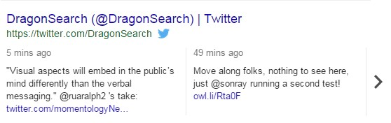 A screenshot showing comments in a Twitter SERP