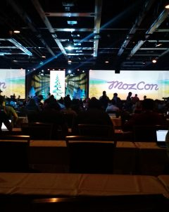 A back-seat view of MozCon