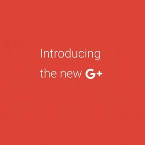 Introducing the new G+ screen.
